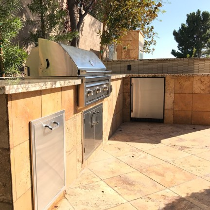Custom Outdoor Kitchen Remodel - BBQ Concepts of Las Vegas, Nevada